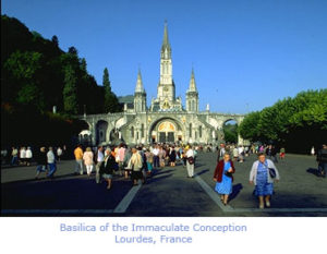 Basilica of the Immaculation Conception Lourdes, France