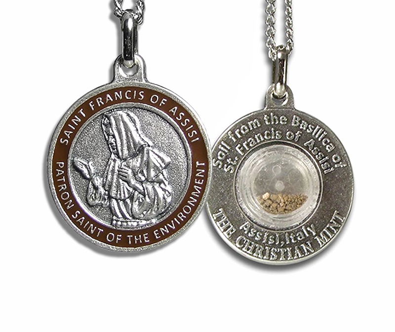Products archive christian mint llc st francis environment medal with assisi soil aloadofball Gallery